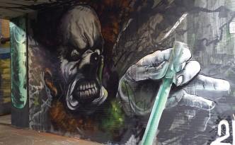 Auftragsgraffiti Graffiti Wandgestaltung