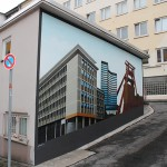 Wandgestaltung DGB Haus