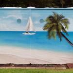 Garagengestaltung Garagen Gestaltung Bemalung Malerei