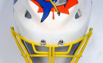 Airbrush auf Hockey Torwartmasken
